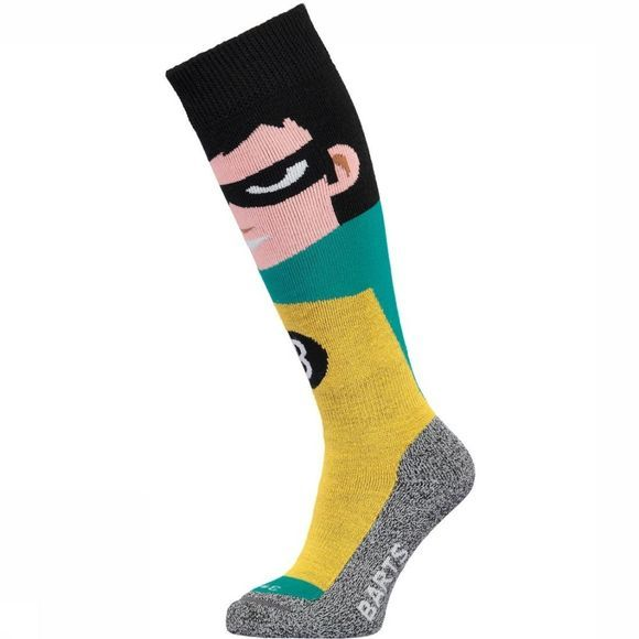 Barts Ski Sock Super Hero Kids yellow
