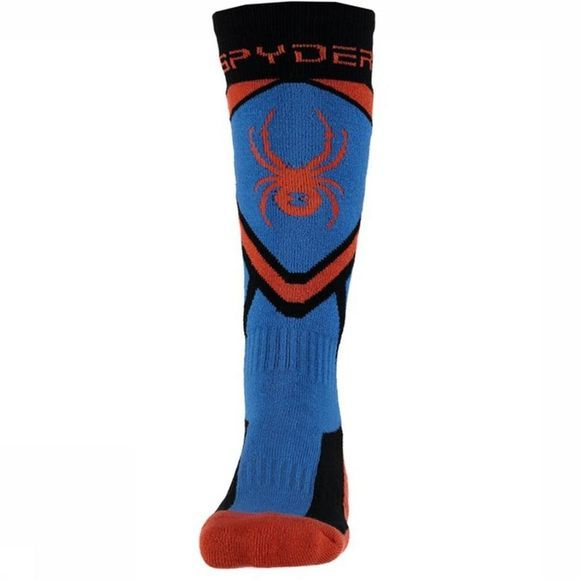 Spyder Ski Sock Boys' Venture blue/orange