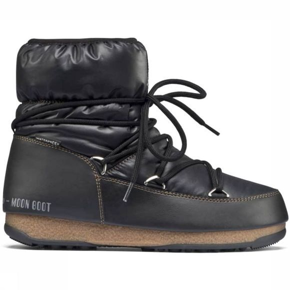 Moon Boot Après-Ski Laars MB West East Low Nylon WP Zwart