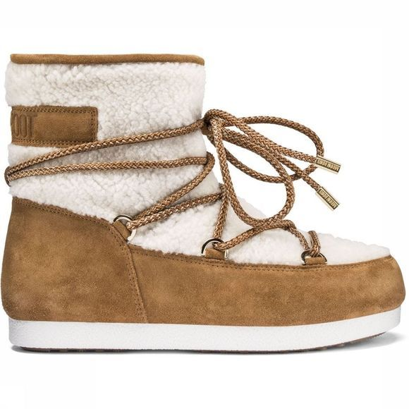 Moon Boot Après Ski Boot Far Side Low Shearling mid brown