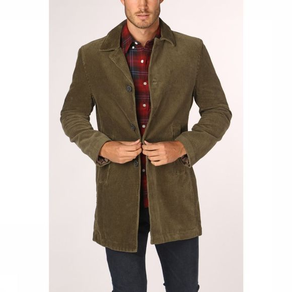 Marc O'Polo Coat 928036371074 mid khaki
