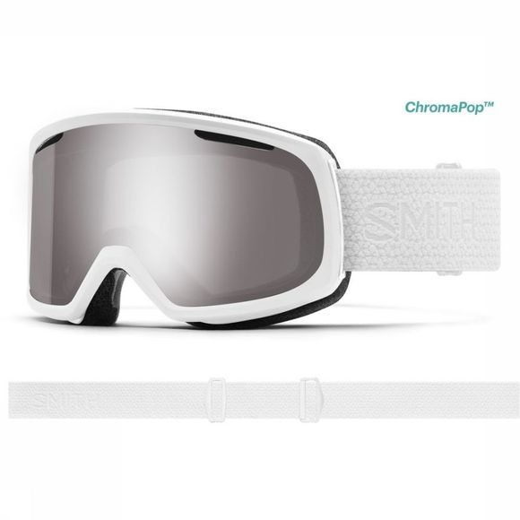 Smith Ski Goggles Riot white/silver