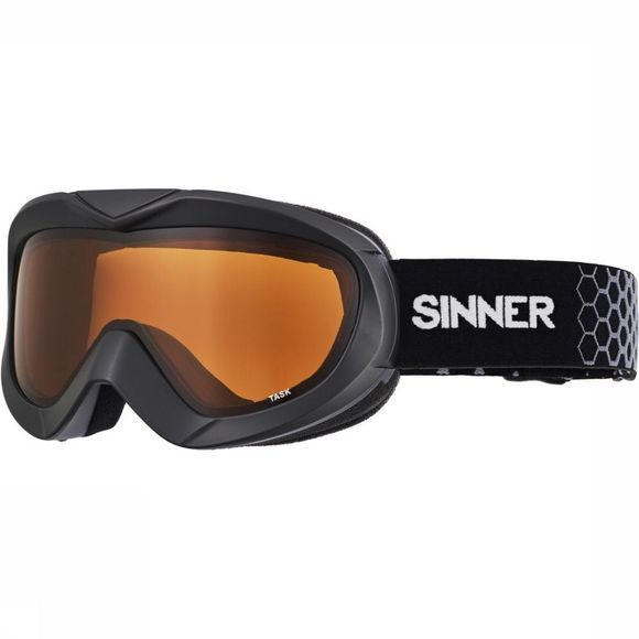 Sinner Ski Goggles Task black/orange