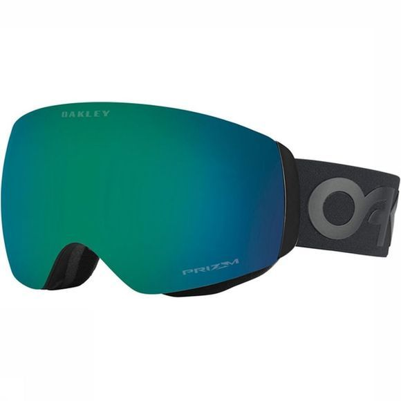 Oakley Skibril Flight Deck XM Zwart/Middengroen