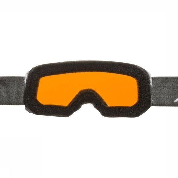 Alpina Lunettes De Ski Scarabeo Jr Dh Blanc/Orange