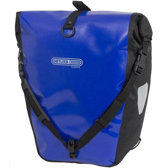 Ortlieb Bike Bag Back Back Roller Classic mid blue/black
