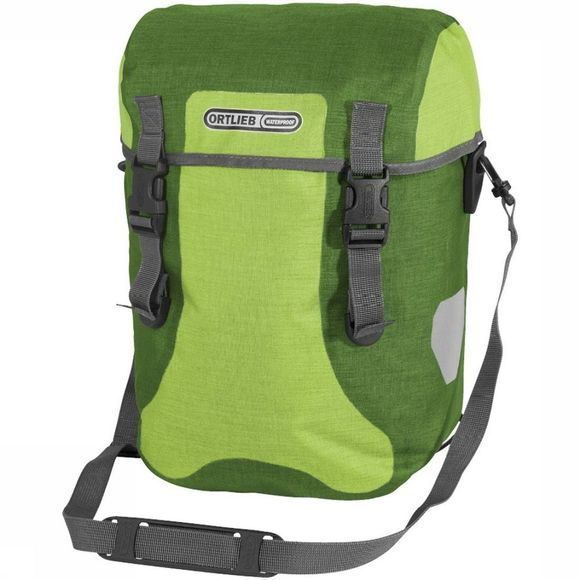Ortlieb Bike Bag Back Sport-Packer Plus Ql2.1 (Pair) Lime/dark green