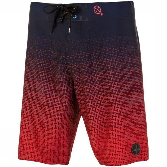 Protest Boardshort Tower Middenbruin/Assortiment Geometrisch