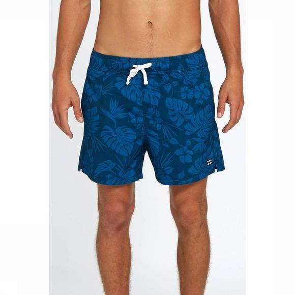Billabong Zwemshort All Day Floral Laybacks 16 Marineblauw/Assortiment Bloem