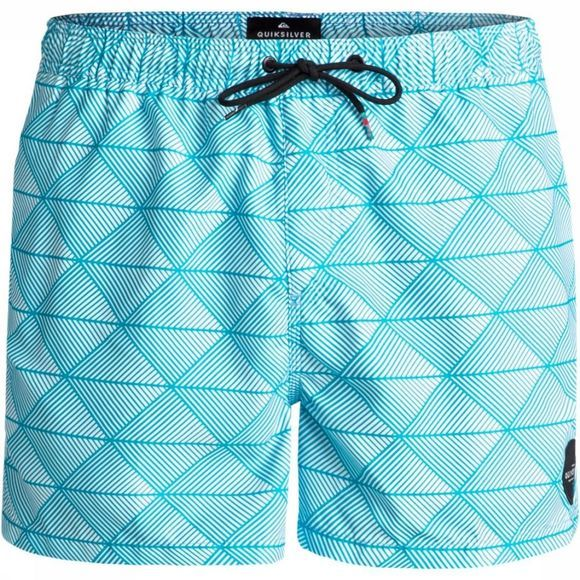 Quiksilver Swim Shorts Static Island 15 light blue/Assortment Geometric
