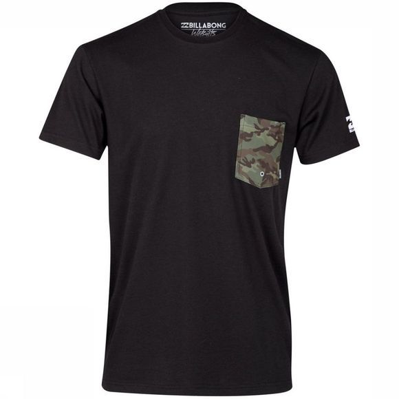Billabong UV-Kleding Team Pocket Tee Zwart