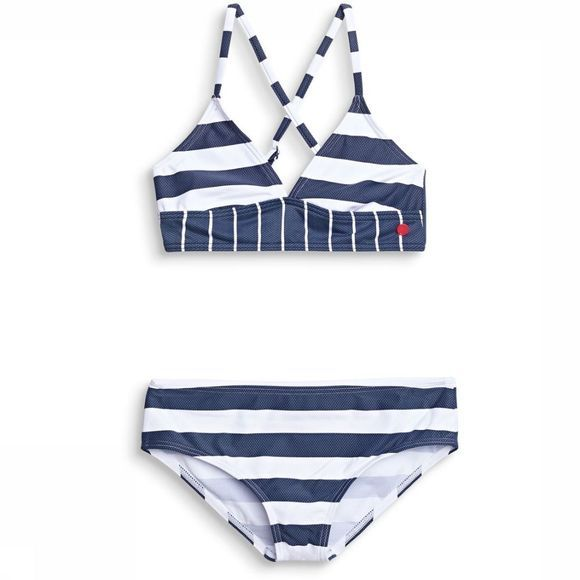 Esprit Bikini North Beach Jeansblauw/Wit