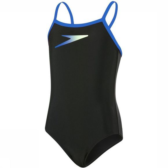 Speedo Bathing Suit Boom Thinstrap black