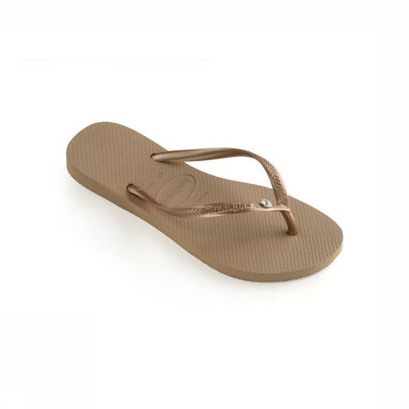 Havaianas Slipper Crystal Glamour Goud