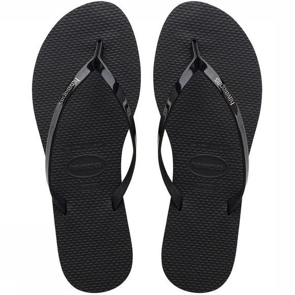 Havaianas Slipper You Metallic Zwart