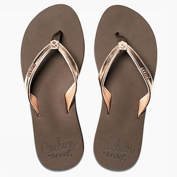 Reef Flip Flop Cushion Luna dark brown/gold