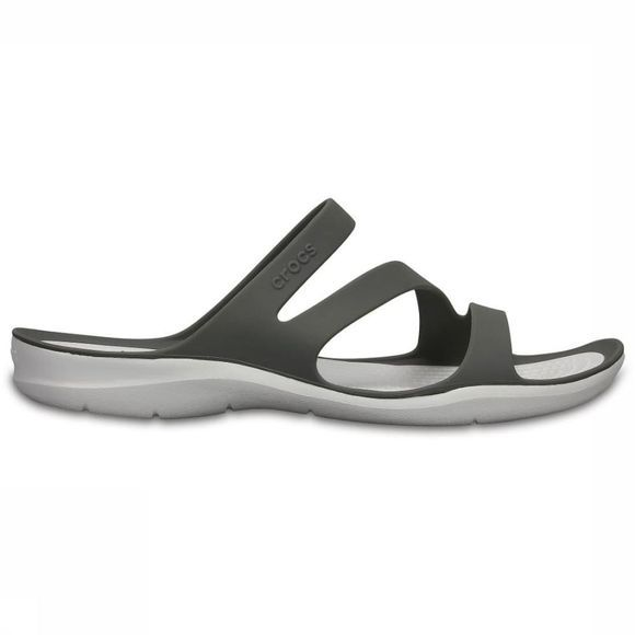 Crocs Tongs Swiftwater Sandal W Blanc/Gris Moyen
