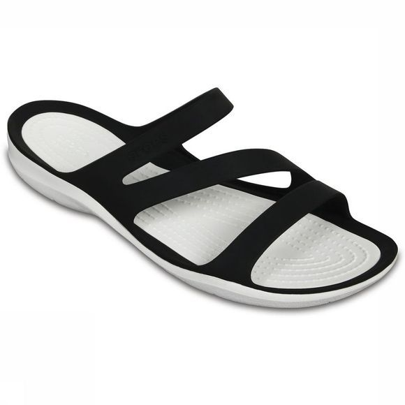Crocs Tongs Swiftwater Sandal W Noir/Blanc