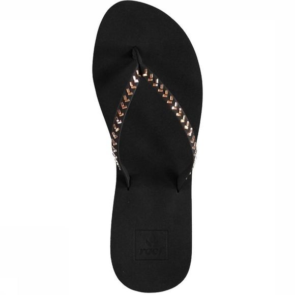 Reef Slipper Bliss Embellish Zwart