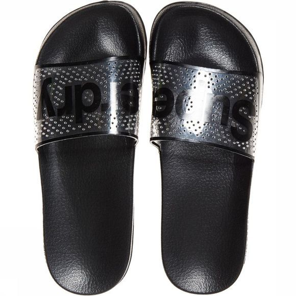 Superdry Flip Floperdry Perf Jelly Pool Slide black