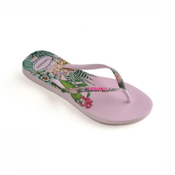 Havaianas Slipper Slim Sensation Middenroze/Assortiment Bloem