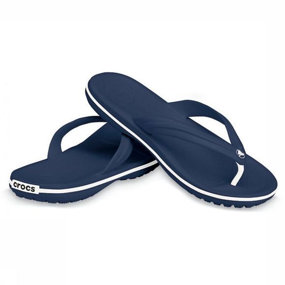 Crocs Slipper Crocband Flip Marineblauw/Wit
