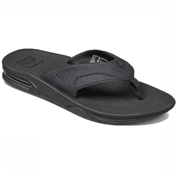 Reef Slipper Fanning Zwart