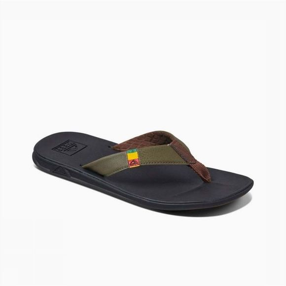 Reef Tongs Slipper Slammed Rover Kaki Moyen