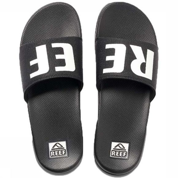 Reef Flip Flop One Slide black/white