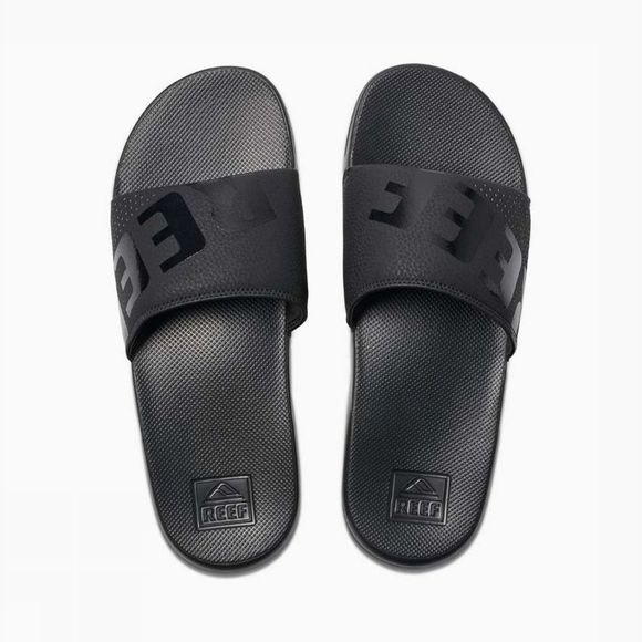 Reef Tongs One Slide Noir