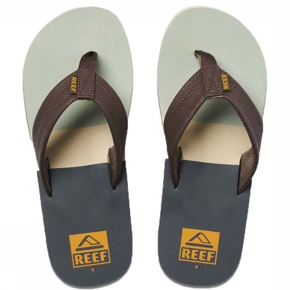 Reef Flip Flop Tri Waters mid grey/green