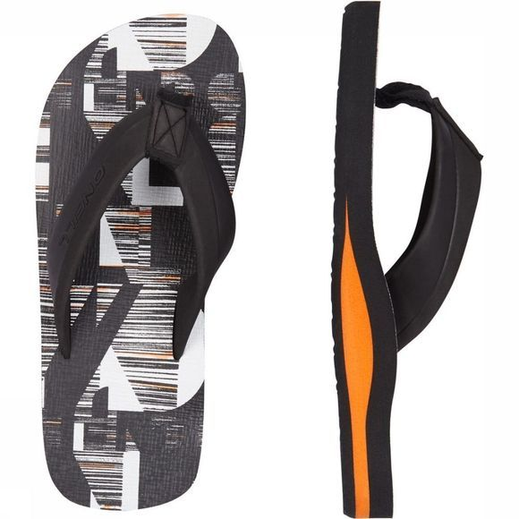 O'Neill Tongs Fb Imprint Pattern Noir/Blanc