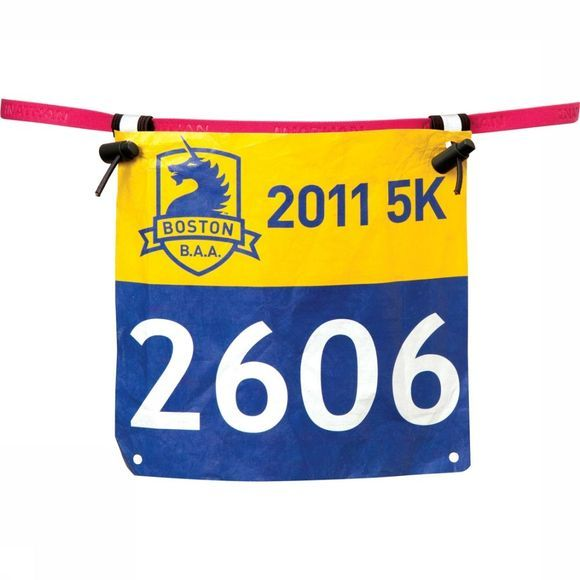 Nathan Diverse Race Number Belt Middenroze