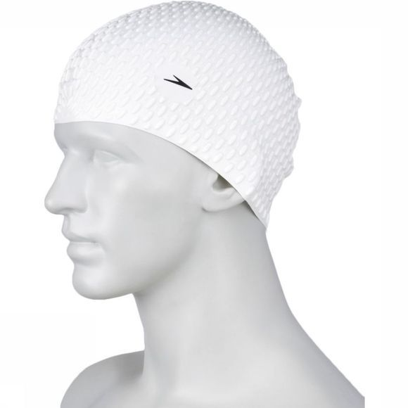 Speedo Badmuts Swimcaps Bubble Cap Whi P12 Wit