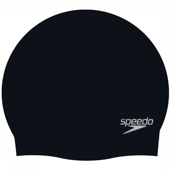 Speedo Swim Cap Swimcaps Jun Moulded black