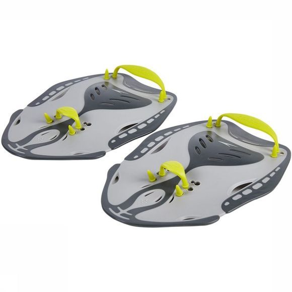 Speedo Diverse Biofuse Power Paddle Zwart/Geel