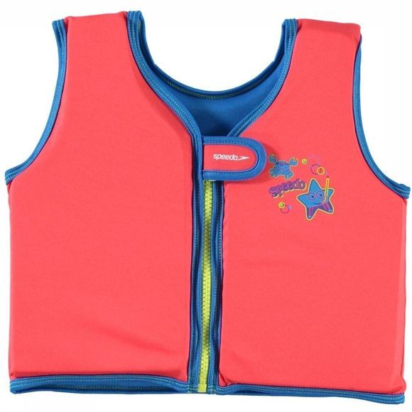 Speedo Gilet De Natation Sea Squad Float Vest Rouge