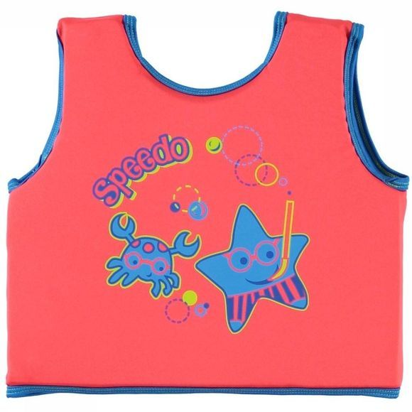 Speedo Zwemvest Sea Squad Float Vest Rood