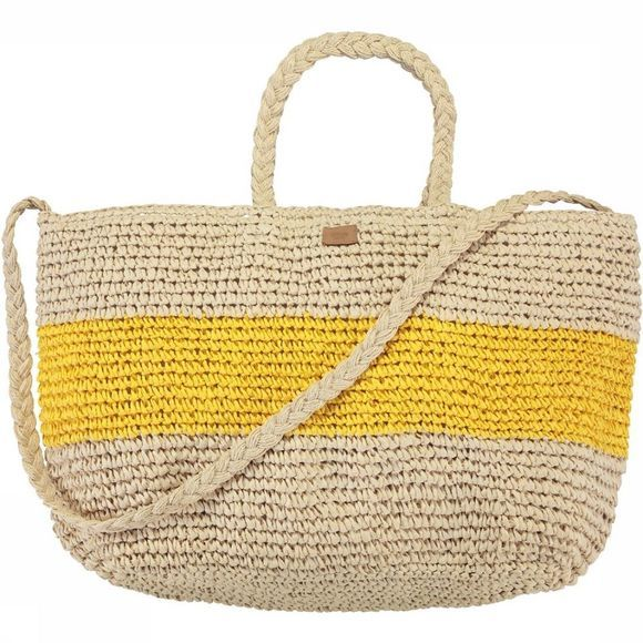 Barts Sac Windang Beach Bag Ecru/Jaune