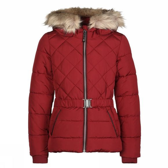 Garcia Coat Gj920801 Bordeaux