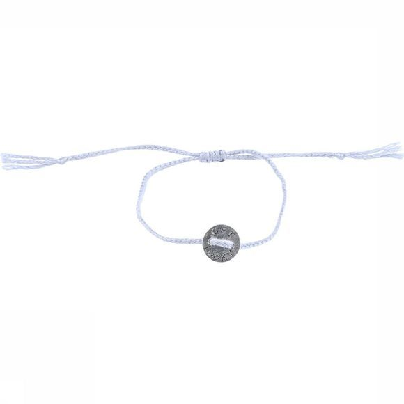 Armband Braided With Charm