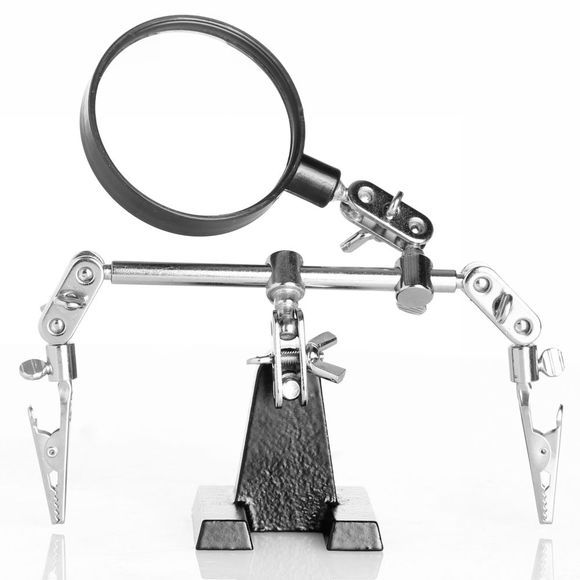 Yaya Home Black Articulated Magnifying Glass Geen kleur
