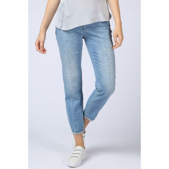 Jeans Tapered Jogg Denim W. Uneven Hem