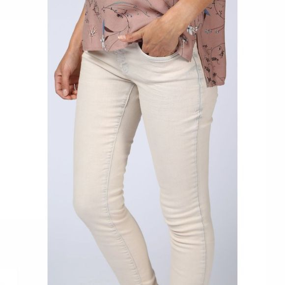 Broek Skinny Coloured Denim