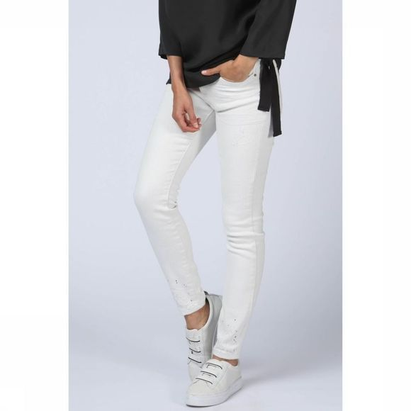 Jeans Skinny Off White Destroid Denim