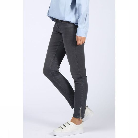 Jeans Fancy Skinny Denim W Zipper