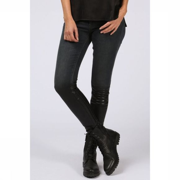 Yaya Jeans Fancyed Skinny Denim Zwart