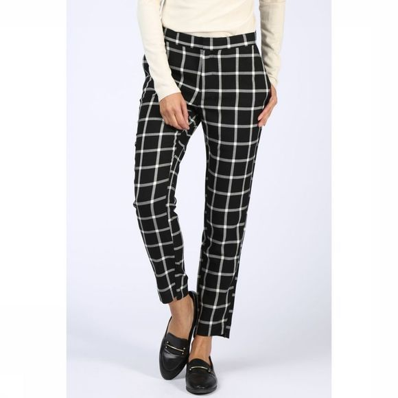 Broek Slim Fit 7/8 Check