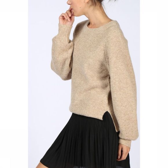Trui Knitted Puff Slv
