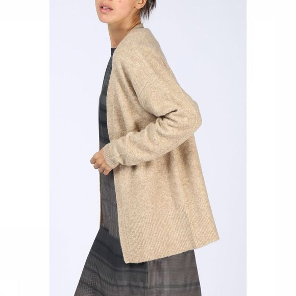 Cardigan Short Round Open Knit